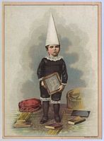 Victorian dunce