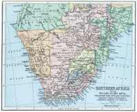 Cape colony map 1896