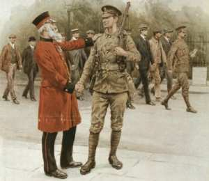 WW1 parting