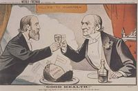 parnell gladstone cartoon